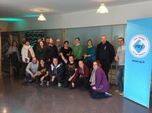 Joensuun Music Against Drugs -kokonaisuuden starttipalaveri järjestettiin 06.10.2015 Joensuun Urheilutalolla.