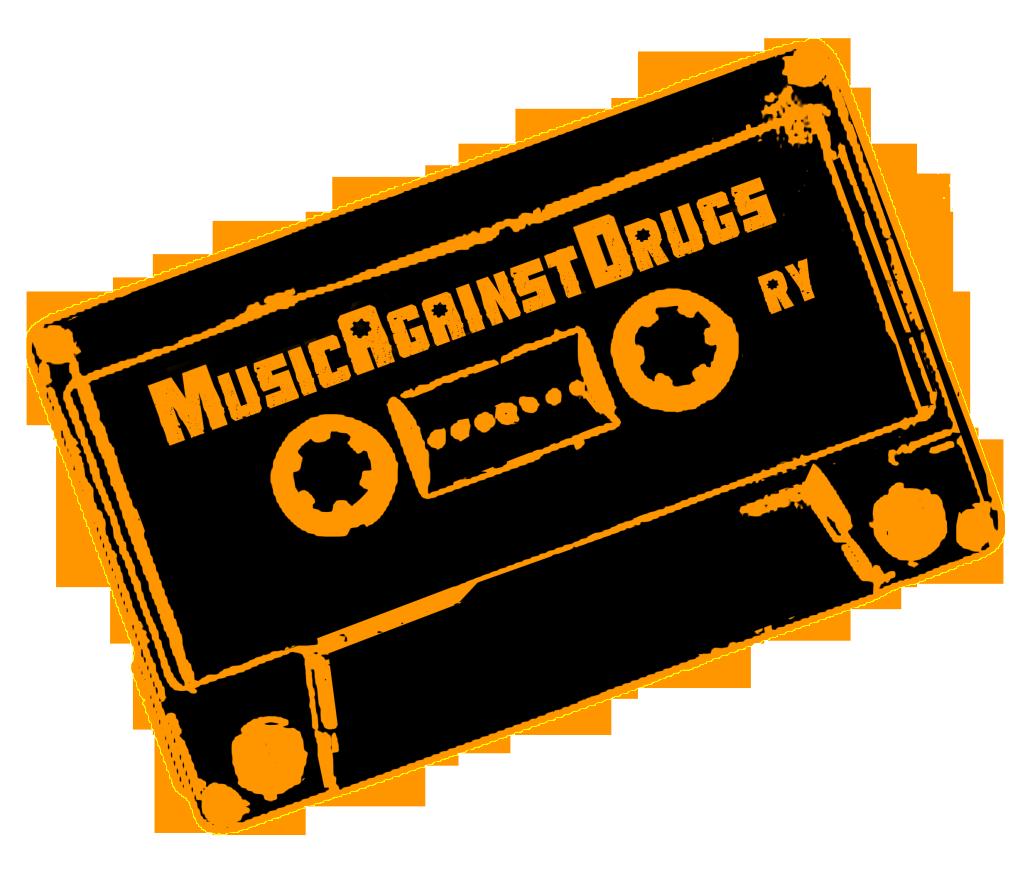 Music Against Drugs ry -logo