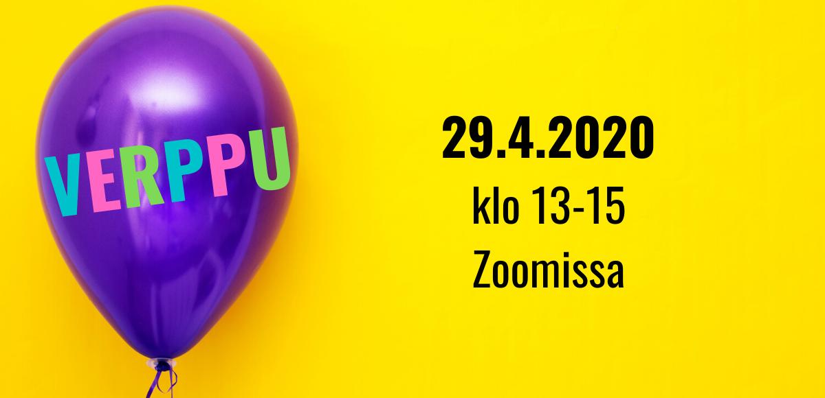 Kuvalinkki Ink-tiimin nuorten 29.4.2020 järjestämän Vappu verkossa -tapahtuman sivulle.