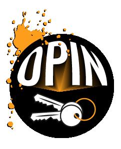 Opin avaimet logo
